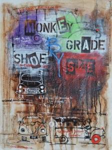 Monkey by Grade {Photo credit: Diseye Tantua}